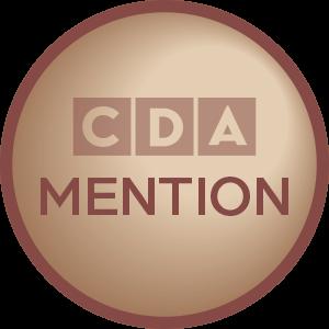 Cincinnati Design Awards - Mention Award Logo